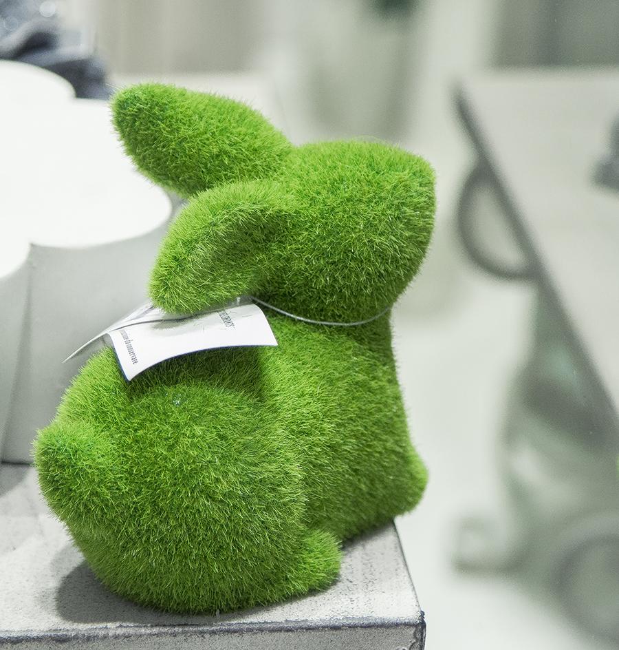Coniglietto erba sintetica